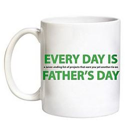 Personalized Every Day is Father's Day Mug