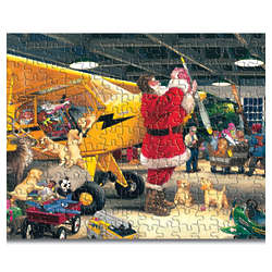 Santa's Christmas Flight Jigsaw Puzzle