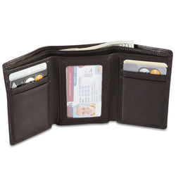 Argentinian Leather Trifold Wallet