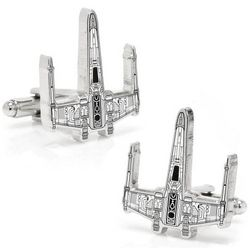 X-Wing Starfighter Blueprint Star Wars Cufflinks