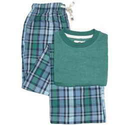 Vintage Wash Short Sleeve Crew and Pant Pajamas