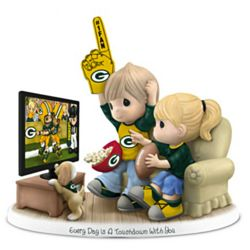 Green Bay Packers Every Day Is a Touchdown with You Figurine