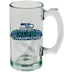 Seattle Seahawks Super Bowl XLVIII Champions Sports Mug