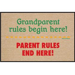 Grandparent Rules Doormat