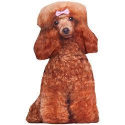 Poodle Dog Pillow