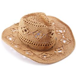Women's Straw Cowgirl Hat