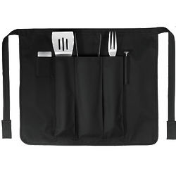 Grillmaster BBQ Apron with 5-Piece Tool Set