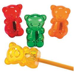 24 Gummy Bear Pencil Sharpeners