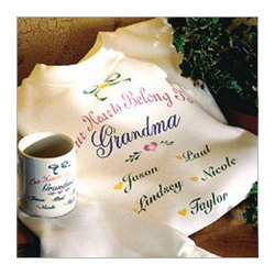 Our Hearts Belong To Grandma Personalized Sweatshirt