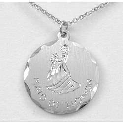 Engravable Maid of Honor Pendant