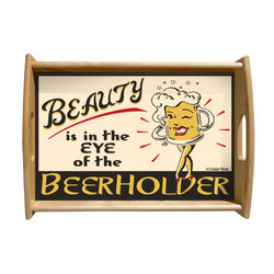 Beerholder Serving Tray