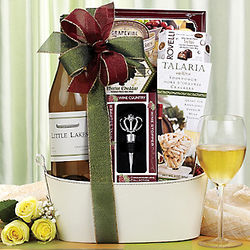 Little Lakes Chardonnay Gift Basket