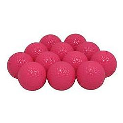 Hot Pink Personalized Golf Balls