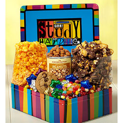 Study Hard Deluxe Snack Tin