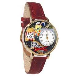 Movie Lover Large Watch in Gold