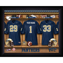 Personalized Pittsburgh Panthers Print