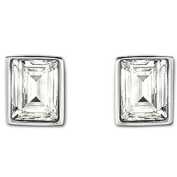 Swarovski Crystal Prime Stud Pierced Earrings