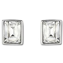 Swarovski Crystal Prime Stud Pierced Earrings