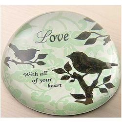 Love Birds Paperweight