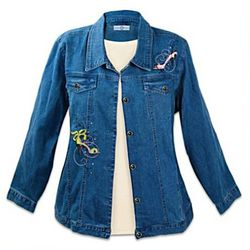 Shoe Lover's Women's Denim Jacket