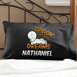 Casper the Friendly Ghost Personalized Halloween Pillowcase