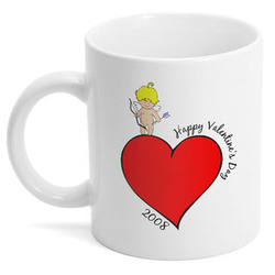 Cupid's Valentine's Day Mug