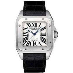 Santos Steel Automatic Men's Watch