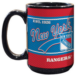 New York Rangers Jersey Coffee Mug