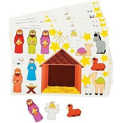 Make-a-Nativity Stickers