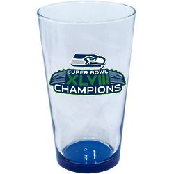 Seattle Seahawks Super Bowl XLVIII Champions Mixing Glass