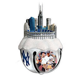 Yankees Sleigh Bell Ornament
