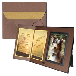 """When Tomorrow Starts Without Me"" Pet Sympathy Gift Frame"