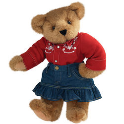 "15"" Country Lovin' Girl Teddy Bear"