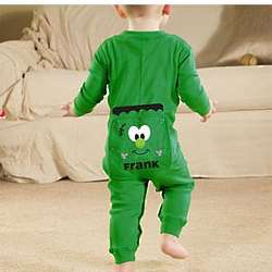 Personalized Infant Halloween Long Johns