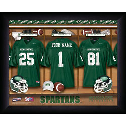 Personalized Michigan State Spartans Print