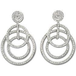 Swarovski Crystal Purity Pierced Earrings