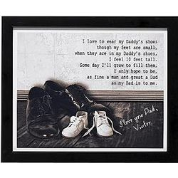 Personalized Father/Son Shoes Print
