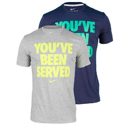 Nike Men's You've Been Served Wimbledon Tennis T-Shirt