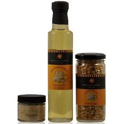 Roasted Garlic Popcorn Gift Set