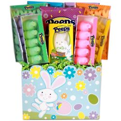 Easter Peep Candy Gift Basket