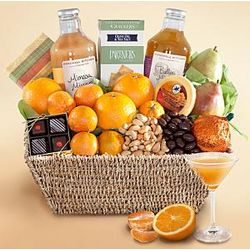 Good Morning Mimosa Gift Basket
