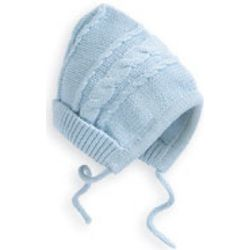 Knit Baby Bonnet Hat
