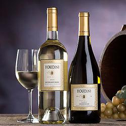 Houdini Napa Valley Sauvignon Blanc and Chardonnay Gift Set