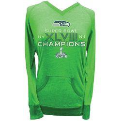 Seattle Seahawks Super Bowl XLVIII Women's Long-Sleeve Shirt
