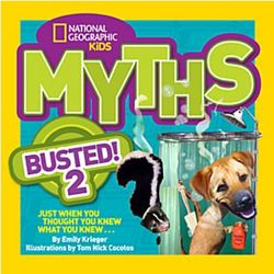 National Geographic Kids Myths Busted! 2 Book