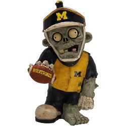 Michigan Wolverines Thematic Zombie Figurine Gnome