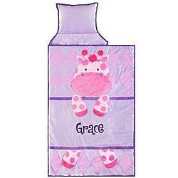Personalized Giraffe Plush Nap Mat