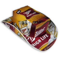 Miller High Life Beer Box Cowboy Hat