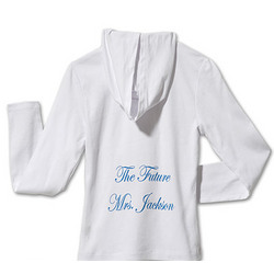 Personalized 'The Future' Hoodie