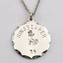 Engraved Ring Bearer Pendant